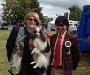 Tiago placed Group 4 Limerick CH Show, Ireland (Group 9)
